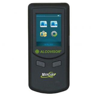 Alcoholtester Alcovisor Mercury touchscreen