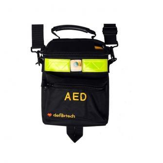 Defibtech Lifeline VIEW AED draagtas