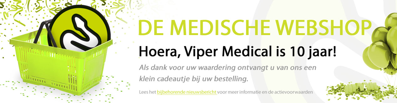 Hoera, Viper Medical is 10 jaar!