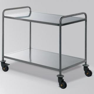 Bawer trolley twee handvaten RVS